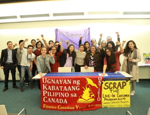 "Filipino Canadian youth and women's organizations continue to celebrate International Women's Month with launch of second critical discussion in their series, ""Where Have all the Women Gone?"", on the topic of sex trafficking and prostitution"
